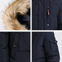 ICEbear 2017 Winter New Jacket Men Warm Coat Fashion Casual Parka Medium-Long Thickening Coat Men For Winter 15MD927D