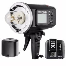 Godox AD600BM 600W HSS 2.4G GN87 Portable Bowens Wireless Outdoor Flash Light + X1T-C Transmitter Trigger for Canon Nikon Sony