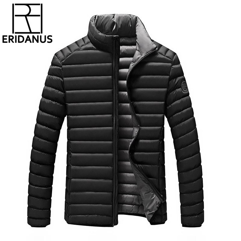 2017 Hot Sale Men Winter Cotton-Padded Coat Jacket Fashion Casual Thick Warm Handsome Young Men Parka Fit Snow Cold M591