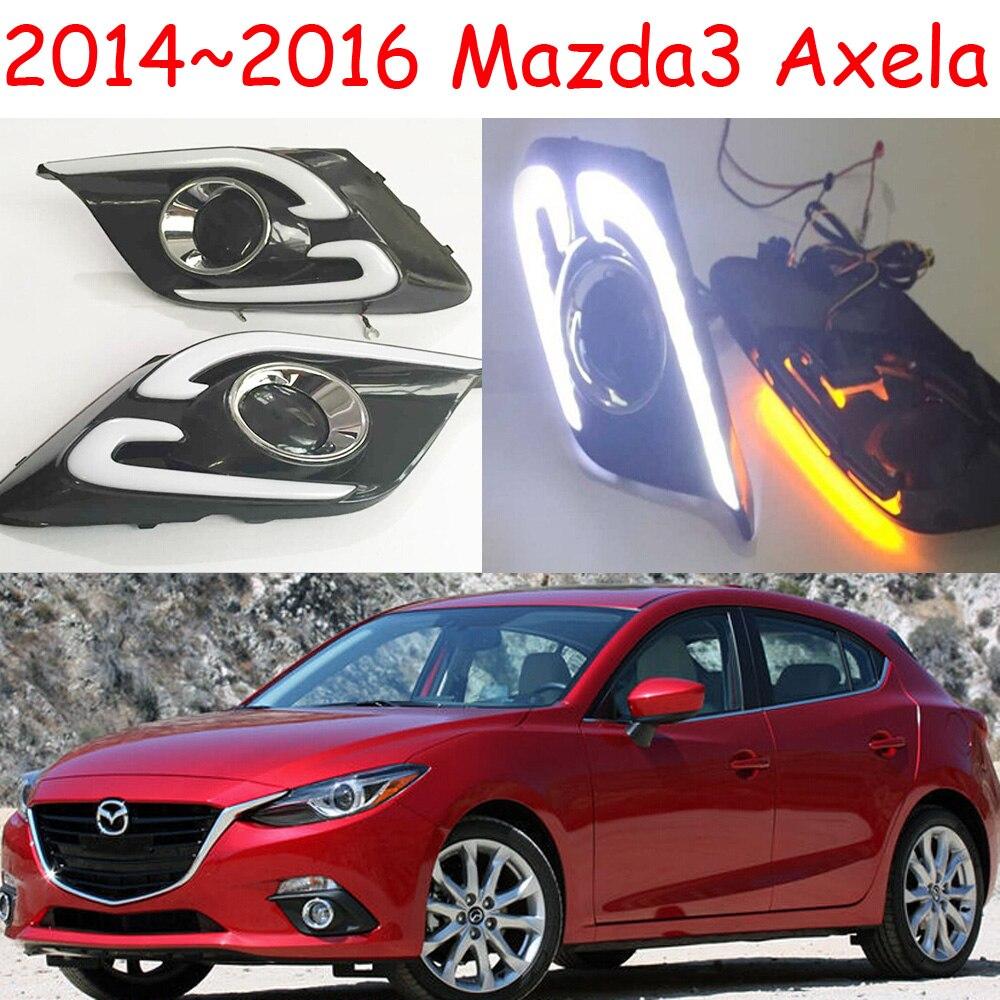ФОТО Car-styling,Masda3 Axela daytime light,2014~2016,LED,Free ship!2pcs/set, Axela fog light;car-covers, Axela headlight, Axela