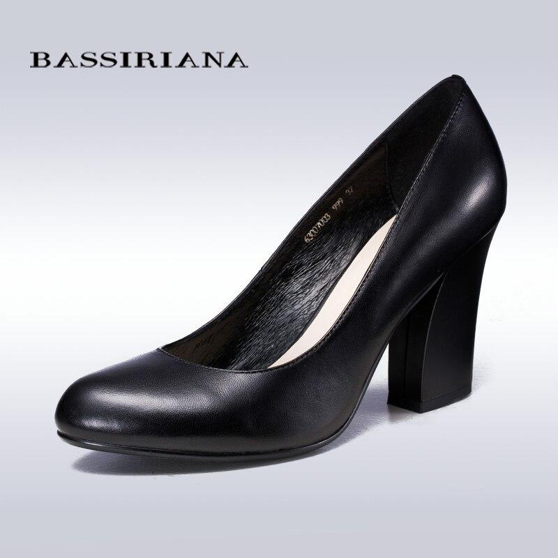 BASSIRIANA 2016 new fashion leather womens