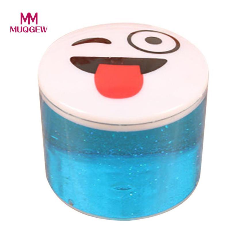 MUQGEW Clay Slime DIY squishy funny slime toys Crystal Mud Play Transparent Magic Plasticine Kid Toys