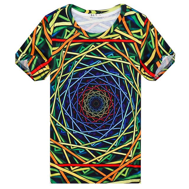 3D Creative Mens T-Shirts