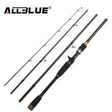 ALLBLUE 2017 New Fishing Rod Spinning Casting Rod 99% Carbon Fiber Telescopic 2.1M 2.4M 2.7M Fishing Travel Rod Tackle peche