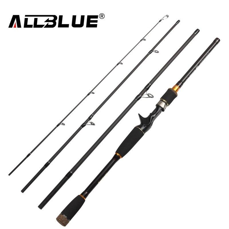 ALLBLUE 2018 Nuova Canna Da Pesca Spinning Rod Casting 99% In Fibra di Carbonio Telescopica 2.1 M 2.4 M 2.7 M Pesca Viaggio Rod Tackle peche