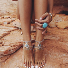 Natural Stone Anklet