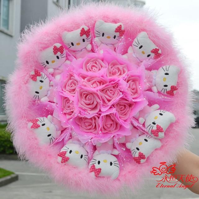 New hot sale handmade Wedding Festival Gift Cute Kitty Cat ...
