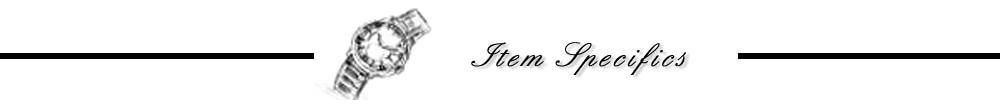 item specifics