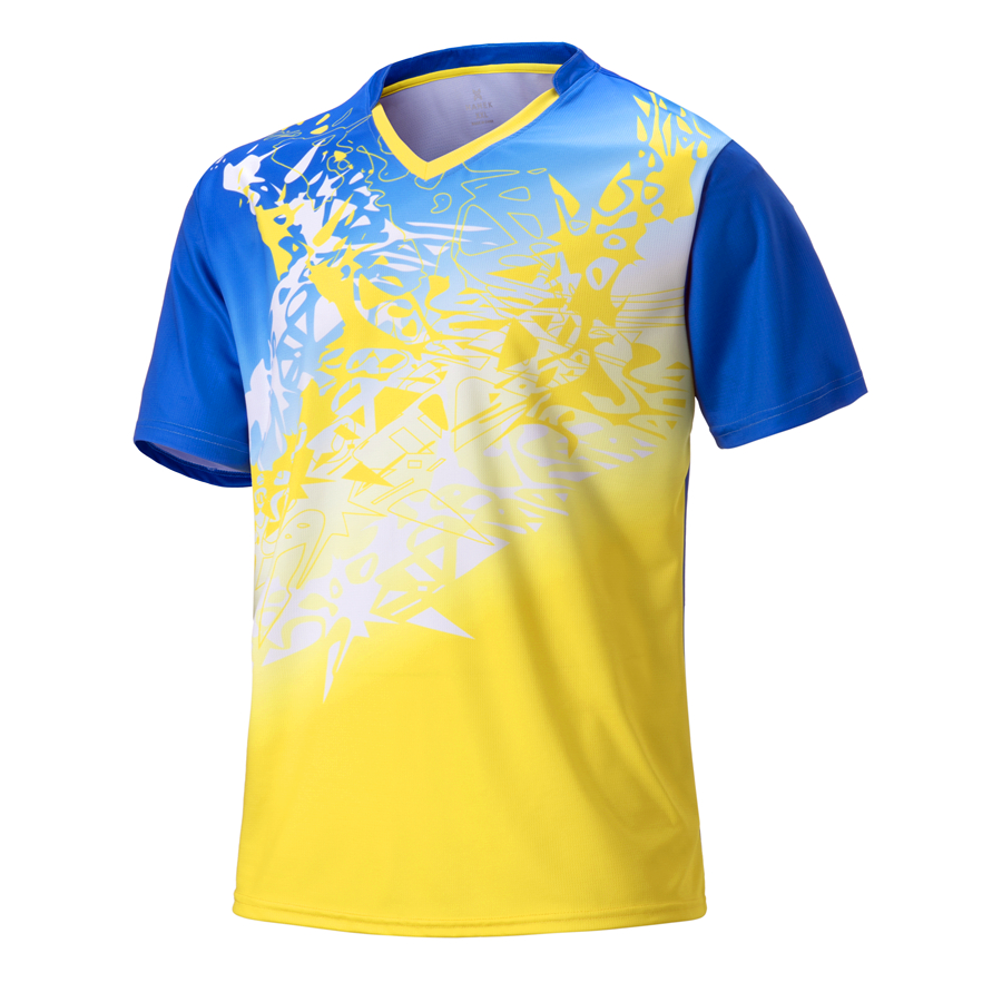 Badminton-Jersey Shirts Table-Tennis Training Team Men Wear Golf-Clothes Quick-Dry Breathable