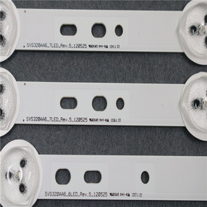 """Image 2 - 3 Pieces/set 580mm For Samsung 32"""" TV SVS320AA6_6LED SVS320AA6_7LED BN96 01059A BN96 01060A New Original LED Strip"""