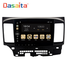 Dasaita 10.2″ Android 8.0 Car GPS Player for Mitsubishi Lancer 10 EVO with 4G+32G Octa Core Auto Stereo Navi Radio Multimedia