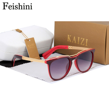 FEISHINI NOT Deformation High Quality Sunglasses Women UV400 Security To Protect Eyesight 2017 Glasses Men Brand Designer