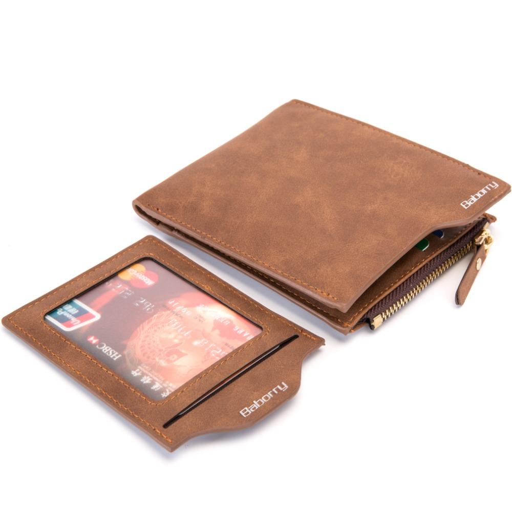 FMJ68 Men/'s Luxury Leather Wallet Credit Card Holder Coin Purse RFID Protect New