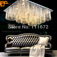 Empire Simple Style Surprise Price Guaranteed 100 Square Luxury Living Room Ceiling Lights Modern Crystal Lamp