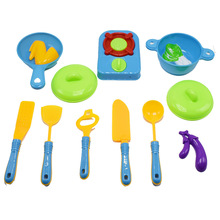11pcs/set Cooker Pot Education Toys Kitchen Tool Play House Useful Funny Toy Pretend Toy For Preschool Children Birthday Gift