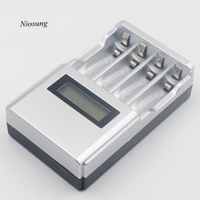 Niosung New Hour SUPER FAST LCD AA / AAA Mains Battery Charger NiMh Or NiCad US Plug Charger For RC Helicopter Mini Drone parts