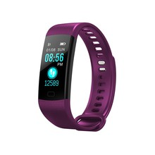 Tonometer Blood Pressure Monitor pedometer HD Heart Rate Oxygen Sphygmomanometer Bluetooth Waterproof Wrist Smart Bracelet