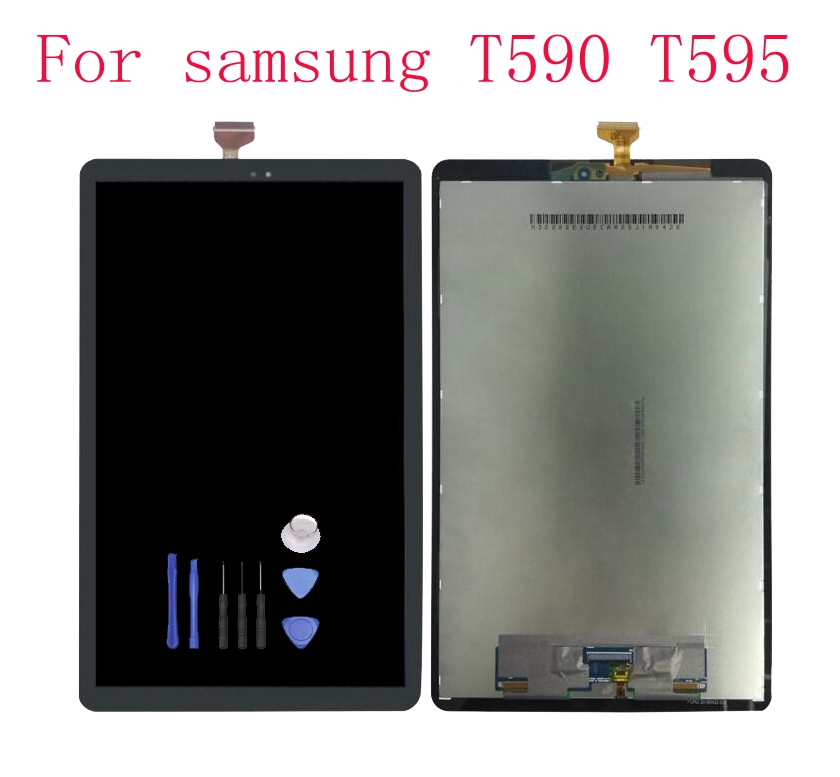 STARDE Replacement LCD For Samsung Galaxy Tab A2 T590 T595 LCD Display Touch Screen Panel Digitizer Assembly Black color 10.1