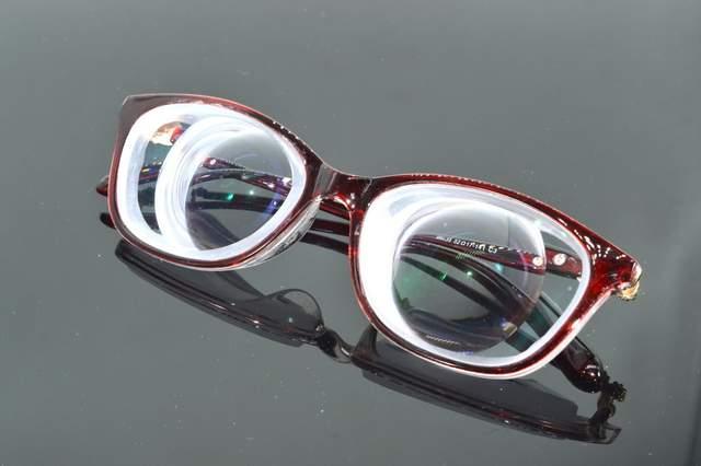 16ff3e976b Clara Vida Limit!! Red Fashion Street girl s high myopia high myopic  myodisc goc glasses