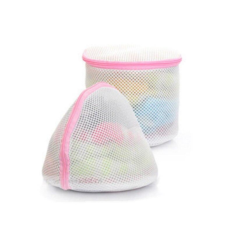 2PC/set Washing Home Use Mesh Clothing Underwear Organizer Washing Bag Useful Mesh Net Bra Wash Bag Zipper Laundry Bag Wash Kit