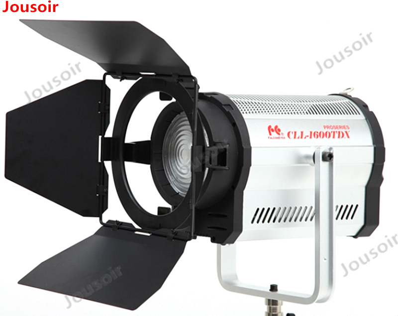 Falconeyes 160W Fresnel LED Light Color Stepless Adjustable Video Light with DMX512 system Continuous light CLL 1600TDX CD50T03|Photographic Lighting| |  - title=