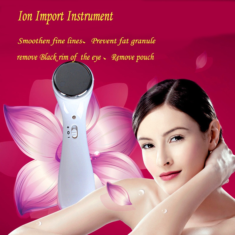 High quality Ion import instrument Electric massager thin face wash facial wrinkle beauty instrument instrument Go black eye healthsweet 24k gold mini massage device electric eye massager facial vibration thin face magic stick anti bag pouch wrinkle pen