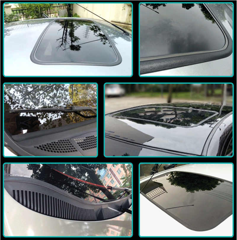 3M Windshield Rubber Sunroof Sealed Strips Car Sticker for Infiniti FX35 FX37 EX25 G37 G35 G25 Q50 QX50 EX37 FX45 G20 JX35 J30