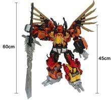 [New]  Action figure JinBaos G1 MMC Predaking Feral Rex Predacons 6IN1 Oversize Upgrade Edition Action Figure Robot Toy цена