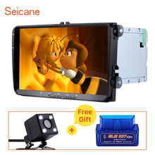 "Seicane 9"" Android 7.1 2G RAM GPS Navi Bluetooth Head Unit for 2011-2013 VW Volkswagen New Beetle 2 Support WIFI OBD SWC DVR 4G"