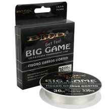 Goture BIG GAME 300M/220M Fluorocarbon Fishing Line 10LB-62LB 0.16MM-0.6MM Fluoro Carbon Coated Nylon Cord Fishing Leader Line