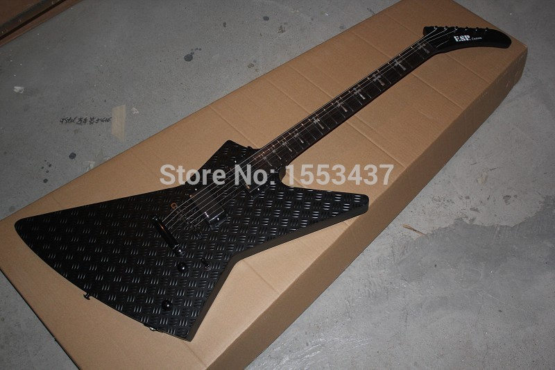 Free Shipping 2014 New Arrival Custom ESP Explorer MX-250 II Black Matt Paint Special Fi ...