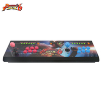 Newest Pandora Box 6 2 players All metal Box Arcade Fighting Game Joystick with 6 core CPU 1300 in 1 games 8 ways joysticks