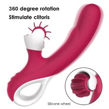 12 Speed Rotation Oral Sex Tongue Licking Toy G Spot Dildo Vibrators for women Vibrating Clitoris Stimulator Sex Toys For Women