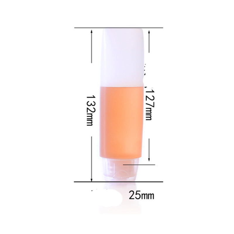Image 4 - 5pcs/set PE hose bottle 30ml Hotel supplies Travel cosmetic hose extrusion bottle hydrating lotion Storage bottle BQ025-in Storage Bottles & Jars from Home & Garden