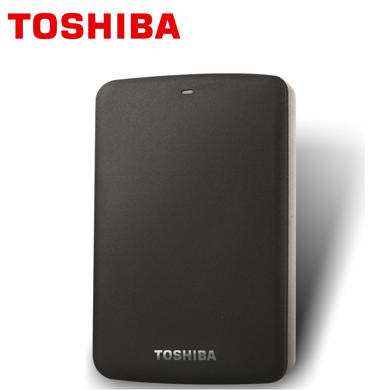 TOSHIBA 2TB External Hard Drive Disk CANVIO BASICS 2000GB Portable HDD 2000G HD USB 3.0 2.5 SATA3 Black ABS Case Original New sata usb 3 0 blue orange hdd case with 250g hard disk heating release rubber case 2 5 fast reading speed case
