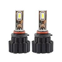 2Pcs H4 LED H7 H11 H8 9006 HB4 Flip P9 Auto Car Headlight 50W 6800LM High