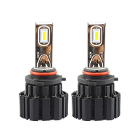 2Pcs H4 LED H7 H11 H8 9006 HB4 Flip P9 Auto Car Headlight 50W 6800LM High Low Beam Bulb All In One Automobile Lamp 6500K 12V