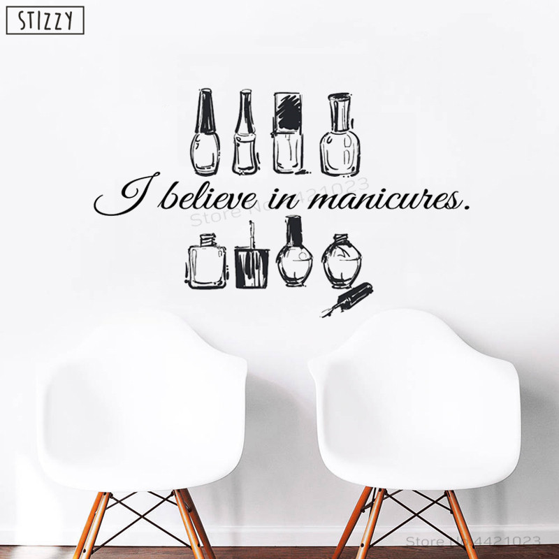 Detail Feedback Questions About Stizzy Wall Decal Girls Nails Beauty