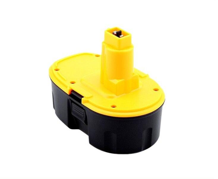 New High Power 18 V 4500 mAh NI-CD Batterie pour Dewalt Power Tool Batterie Rechargeable DC9096 DE9503 DW9095 DW9096 DE9096 (jaune)