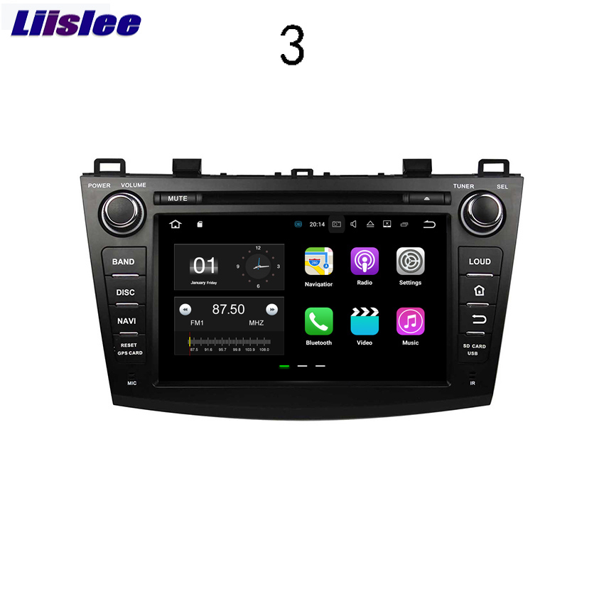 Liislee Für <font><b>Mazda</b></font> <font><b>3</b></font> 2009 ~ 2012 <font><b>Android</b></font> Auto Navigation GPS HD Touchscreen Audio Video Radio Stereo Multimedia Player. image