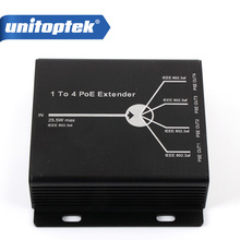 Poe-Repeater Max-Ieee802.3at Ce 4-Channel 120m-Distance Transimitte 4-Ports in Single