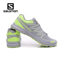 New red Salomon S LAB SENSE M Men's Shoes Outdoor Jogging Sneakers Lace Up Athletic Shoes running Shoes Men's Shoes size 40 46