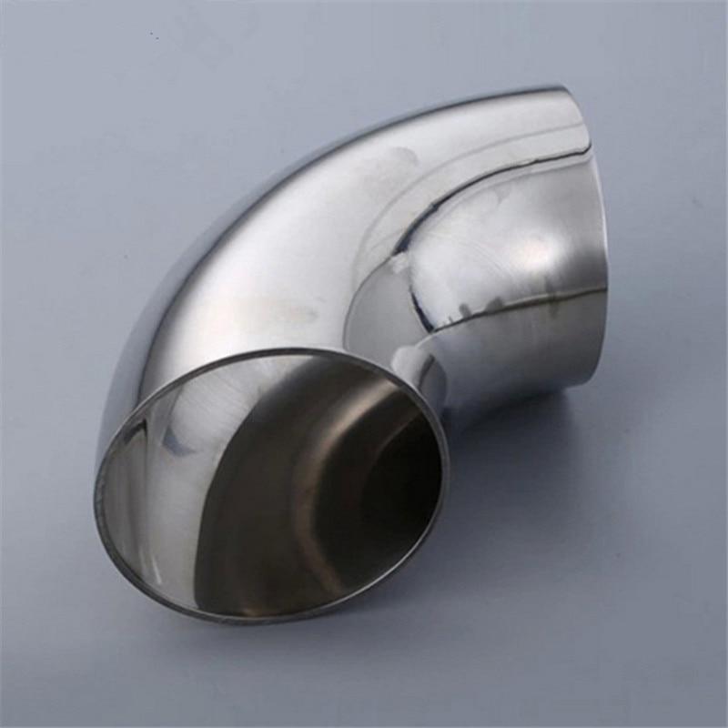 Rohre & Armaturen Kenntnisreich 25mm O/d 304 Edelstahl Sanitär Weld 90 Grad Ellenbogen Rohrfitting Letzter Stil