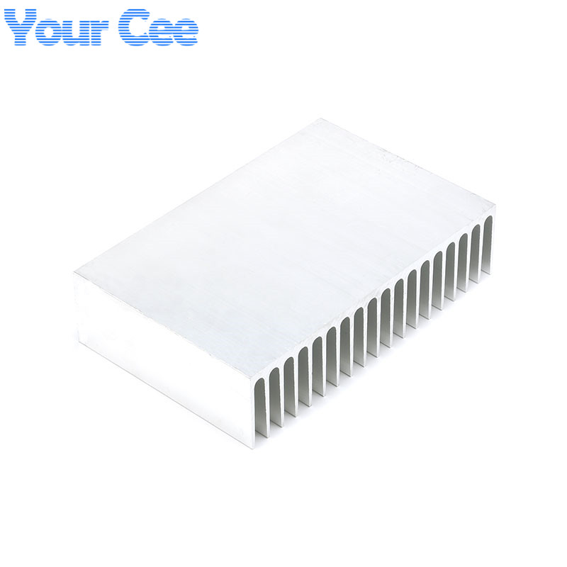 Image 5 - 1 pc 182*120*44.5mm Heatsink Cooling Fin Aluminum Radiator Cooler Heat Sink for LED, Power IC Transistor, Module 182*120*44.5mm-in Integrated Circuits from Electronic Components & Supplies