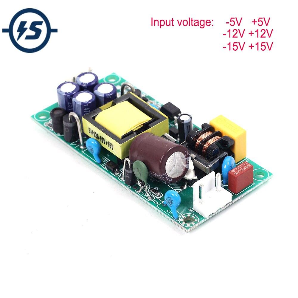 AC DC Spannung Step Down Modul Dual Ausgang AC 85 V-265 V zu DC +/-5V +/-12V +/-15V DC DC Step Down Modul Spannung Regler