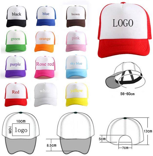 2a9e2511916 Online Shop Custom Text Hat For Soccer Print Trucker Hats Foot Ball ...
