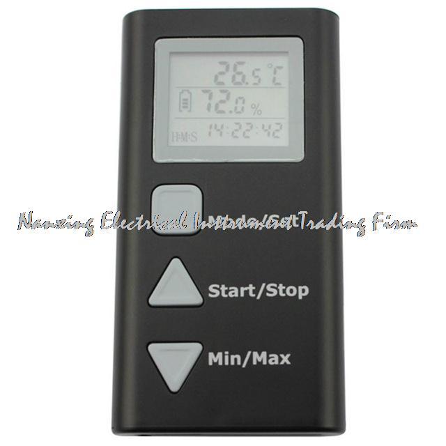 HT-165 Mini LCD Portable singel Senors LCD Digital Temperature Humidity Meter Thermometer Hygrometer Datalogger Range -40--105 C mini digital lcd thermometer humidity