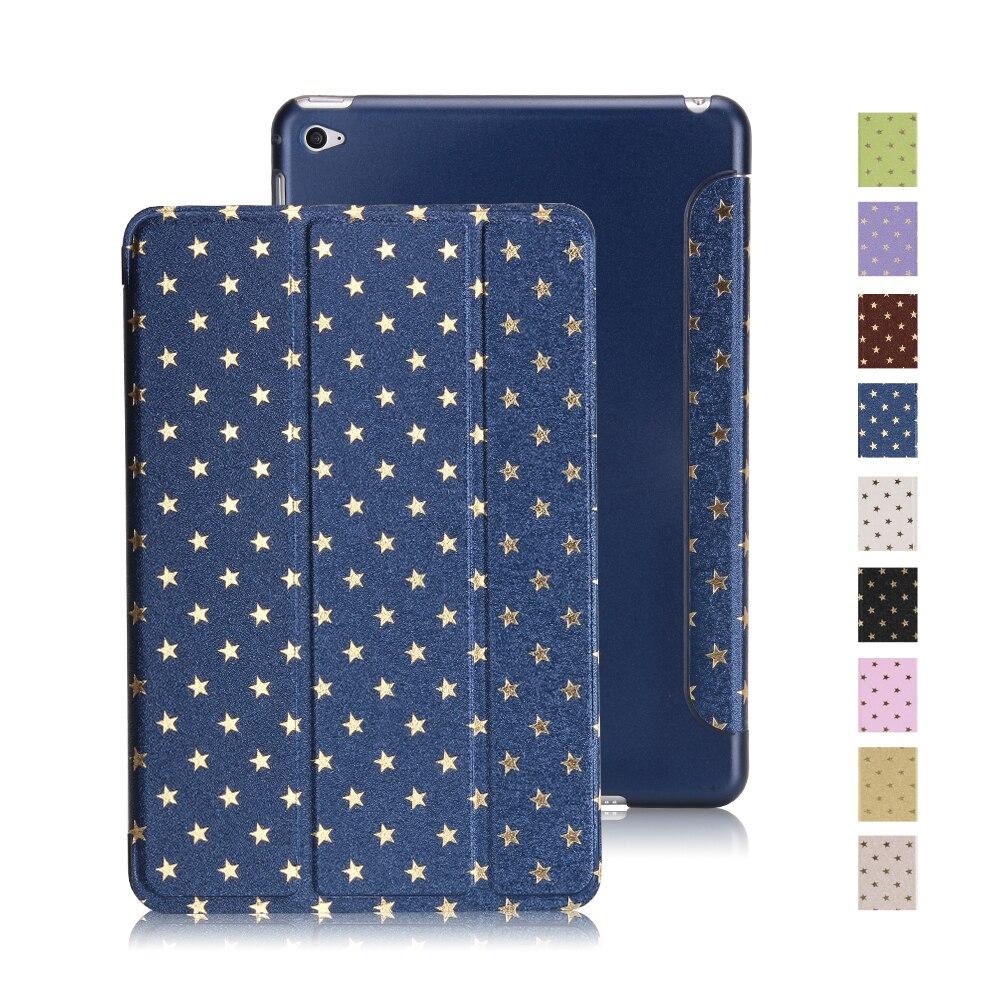 Cover For Ipad Mini 4 Case, PU Leather And Hard PC Smart Cover For Ipad Mini Case Ultra Slim Flip Stand For Ipad Mini 1 2 3