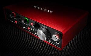 Image 2 - الأصلي FOCUSRITE سكارليت 2i4 II 2nd جيل USB جهاز التحكم في الصوت كارت الصوت المهنية لتسجيل 2 في/4 خارج