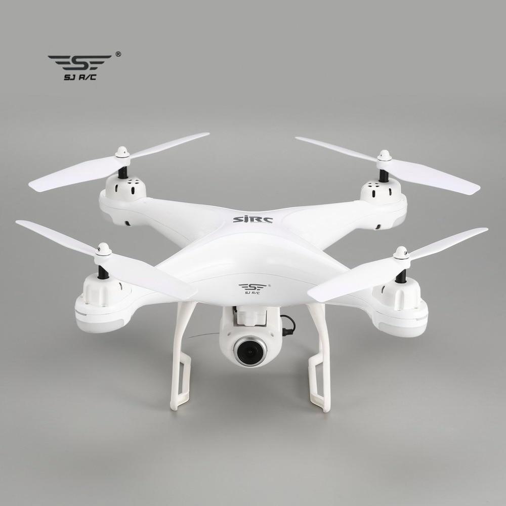 SJ R/C S20W Doppio GPS FPV RC DRONE 720 p 1080 p Della Macchina Fotografica Selfie il Mantenimento di Quota Drone Senza Testa modalità di Ritorno Automatico Hover RC Quadcopter